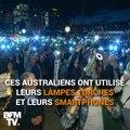 Contre la projection d'une publicité, ils arrosent de lumière l'Opéra de Sydney