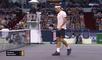Tennis - Shanghai : Un point magique fait sourire Federer
