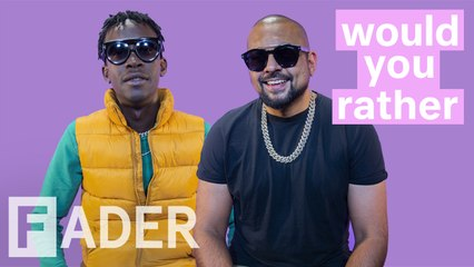 sean paul and chi ching ching debate cloning themselves jamaican parties and more would you rather season 1 episode 7