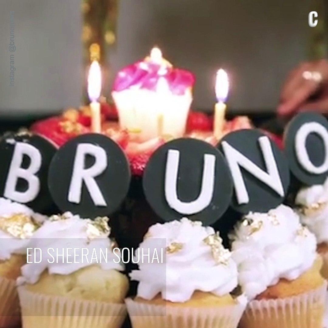 Joyeux Anniversaire Bruno.Ed Sheeran Chante Joyeux Anniversaire A Bruno Mars