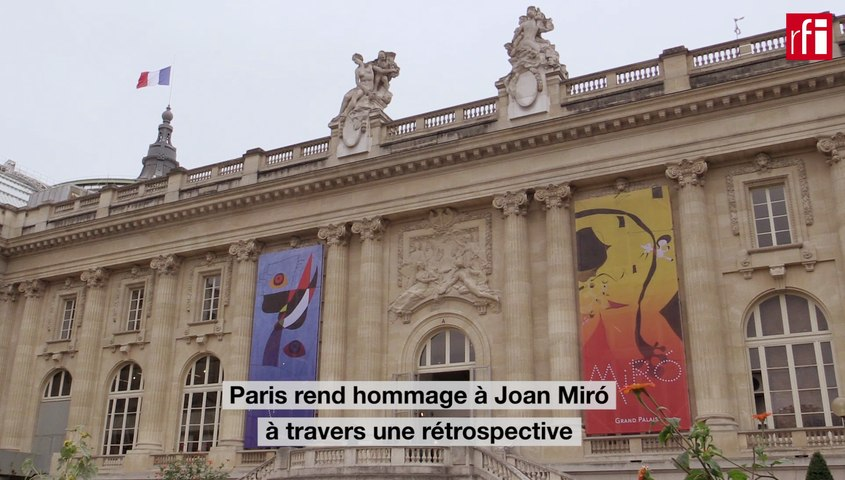 Le Catalan Joan Miró au Grand Palais à Paris