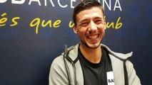 Le plus bavard, le plus chambreur, le plus beau gosse : Clément Lenglet présente ses camarades de jeu au FC Barcelone.