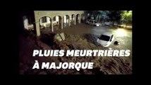 A Majorque, les images des pluies meurtrières qui ont fait au moins 10 morts