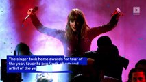Taylor Swift Sets New American Music Awards Record for Women