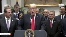 Trump: Hurricane Michael 'One Of The Biggest Storms Ever To Hit Our Country'