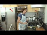 Huevos revueltos con ejotes - Scrambled Eggs with Green Beans