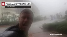 Winds are so vicious, it's hard to hear storm chaser Reed Timmer