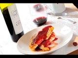 Pechugas de pollo con coulis de fresa y frambuesa - Viñas de Garza - Recetas de pollo