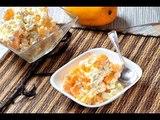 Mango con queso cottage - Recetas de cocina mexicana - Recetas de postres