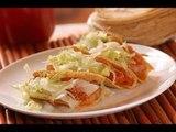 Tacos de tinga de res - Chipotle tacos - Recetas de comida mexicana