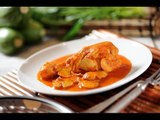 Pollo con hongos - Recetas de pollo - Chicken with mushrooms - Como cocinar