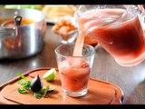 Agua de menta con higo - Bebida refrescante y natural