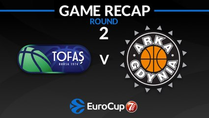 7Days EuroCup Highlights Regular Season, Round 2: Tofas 96-79 Arka