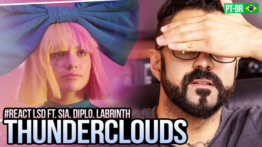 REAGINDO a LSD - Thunderclouds (Official Video) ft. Sia, Diplo, Labrinth