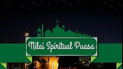 Nilai Spiritual Puasa
