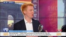 Adrien Quatennens (LFI) est favorable à la création d'un conseil de déontologie du journalisme