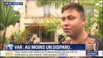 """""""Ma mère flottait avec son lit."""" Un habitant de Sainte-Maxime témoigne de la montée des eaux chez lui cette nuit"""