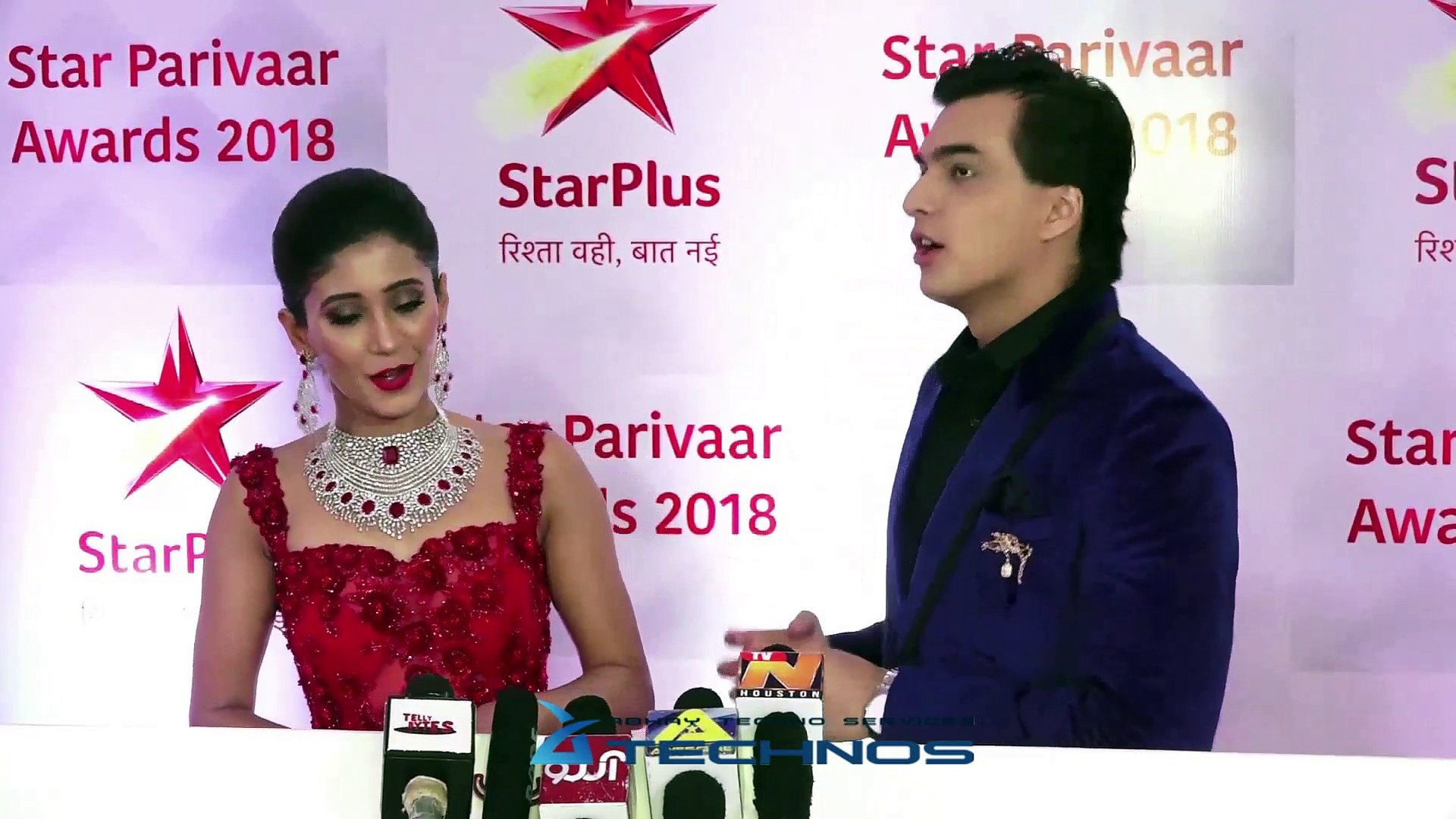 Star Parivaar Awards 2018 Red Carpet | Shivangi Joshi, Mohsin Khan