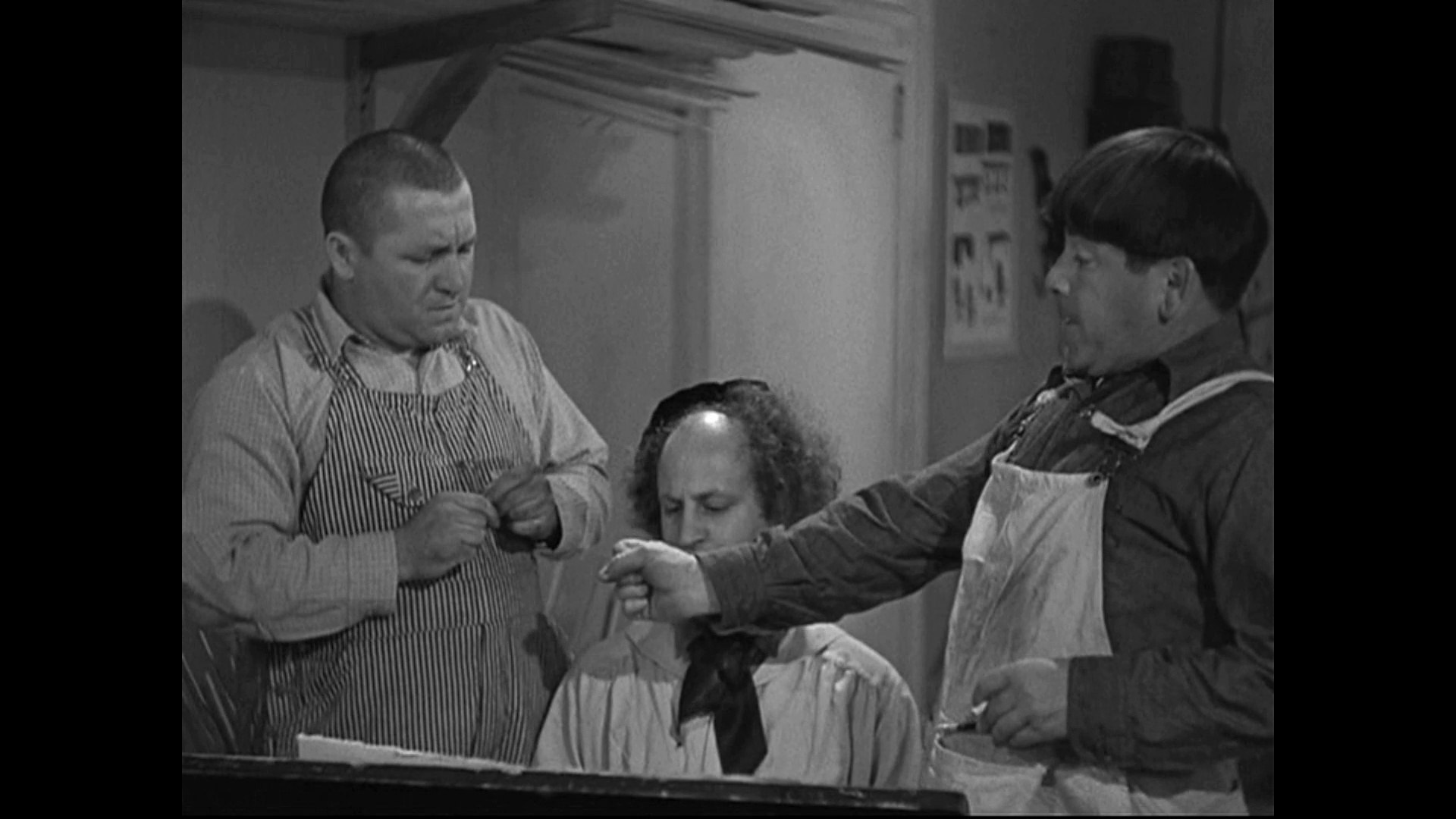Image result for The Three Stooges: Slippery Silks (1936)