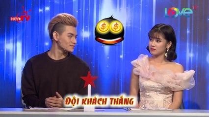 Hoàng Yến Chibi Tino hát Muốn Yêu Ai Đó Cả Cuộc Đời tặng các cặp vợ chồng tham gia Gương Mặt Phu Thê