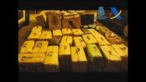 Cinco detenidos y cinco toneladas de hachís aprehendidos en el Estrecho