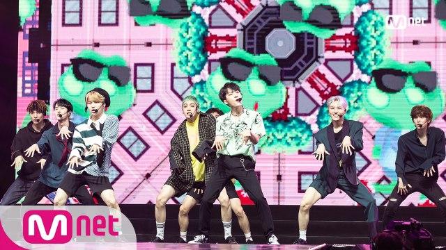 펜타곤(PENTAGON) - INTRO PERF. + 청개구리(Naughty boy)|KCON 2018 THAILAND × M COUNTDOWN