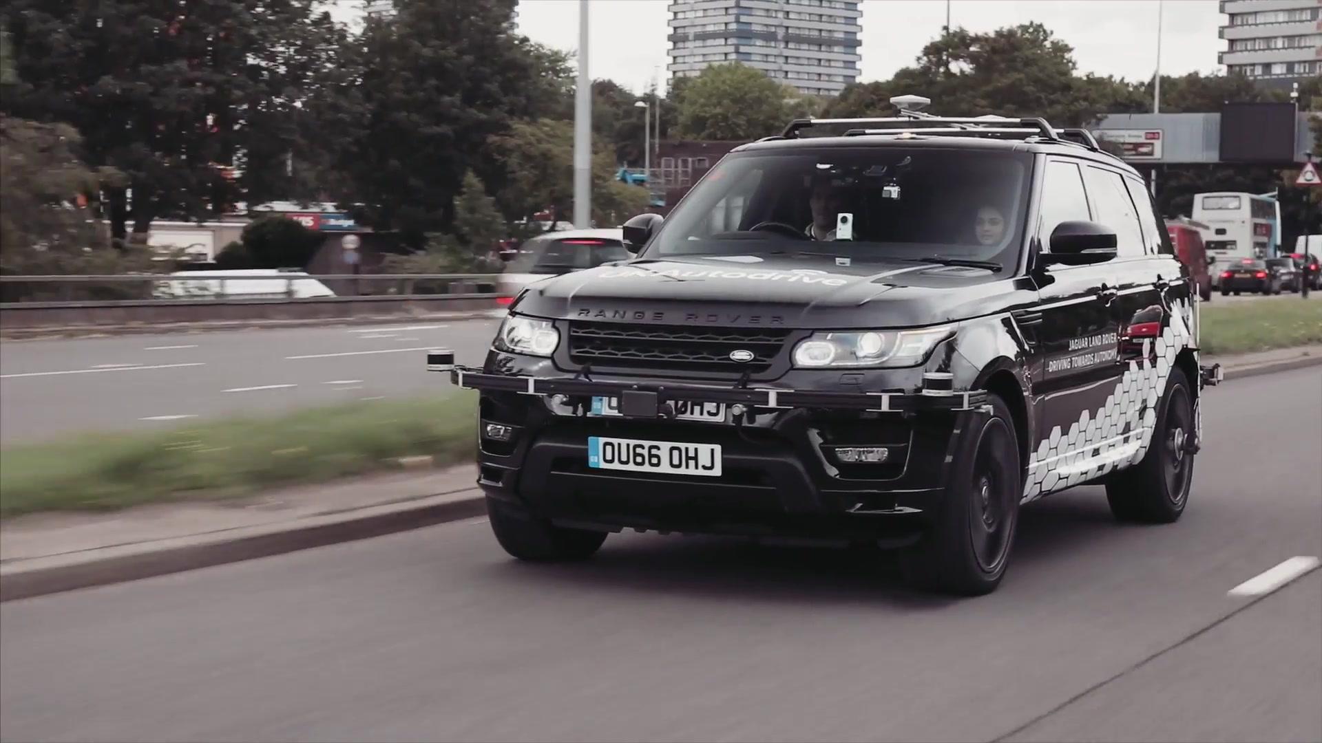 Self Driving Range Rover Sport – Land Rover