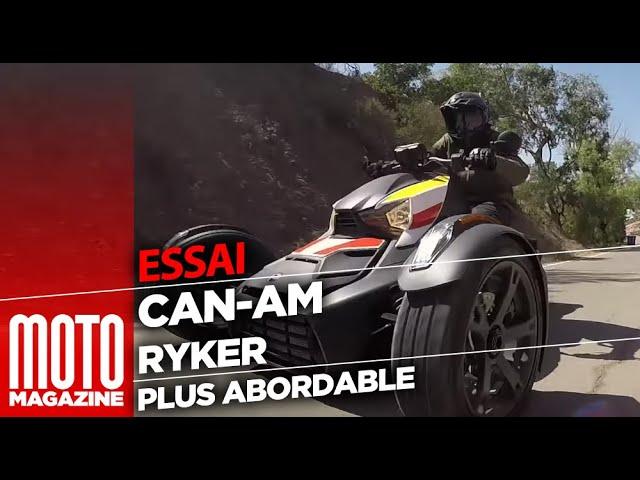 Can Am Ryker 2019 – ESSAI MOTO MAGAZINE