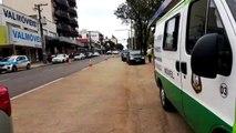 Cettrans realiza ação educativa na Av. Brasil