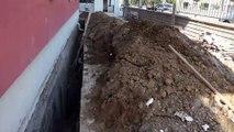 Malatya'da toprak altına kalan işçi kurtarıldı