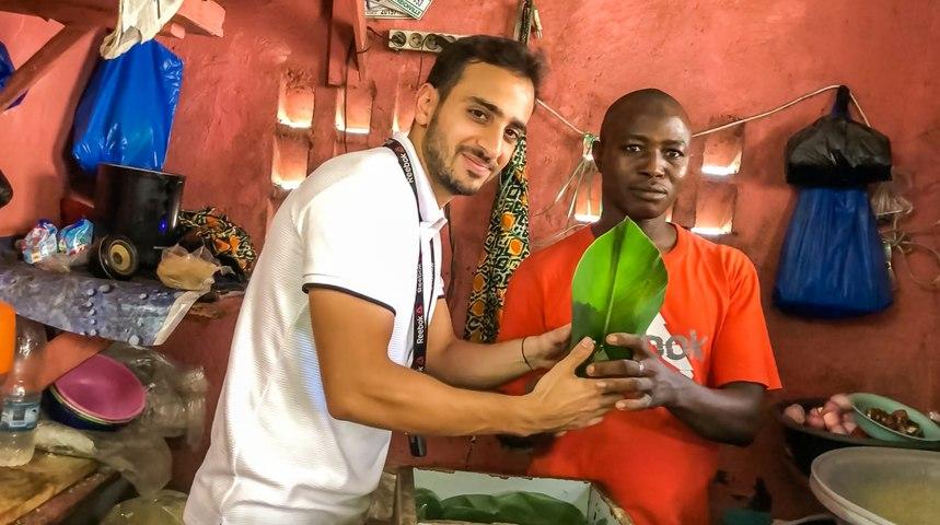 BIEN MANGER avec 2000 F CFA par jour à Abidjan (street food: part 1/2)