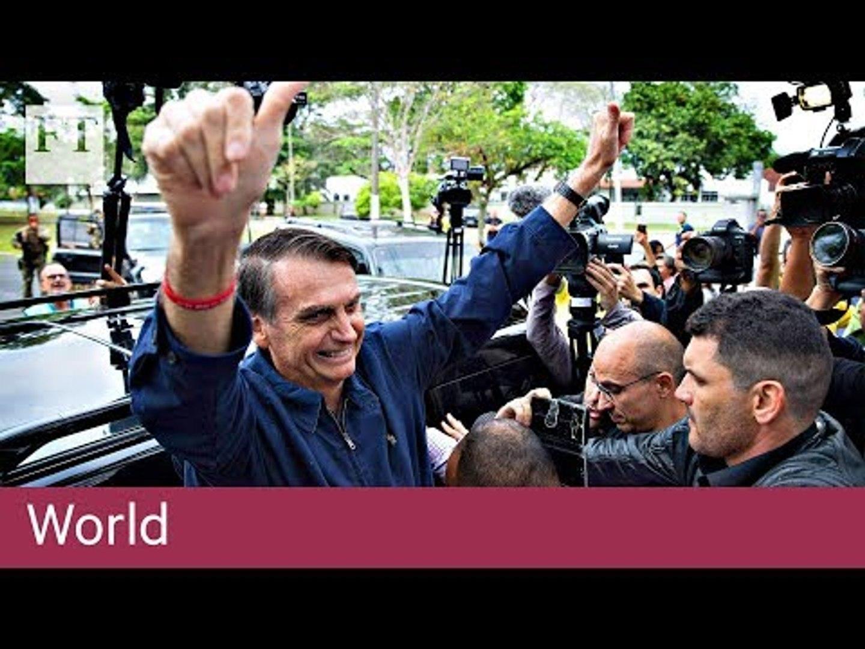 Brazil's front-runner Jair Bolsonaro - 10 key facts
