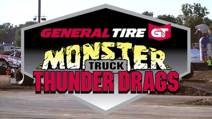 Indianapolis 4-Wheel Jamboree General Tire Monster Truck Thunder Drags Highlights - 2018