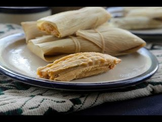 Mexican yellow mole tamales
