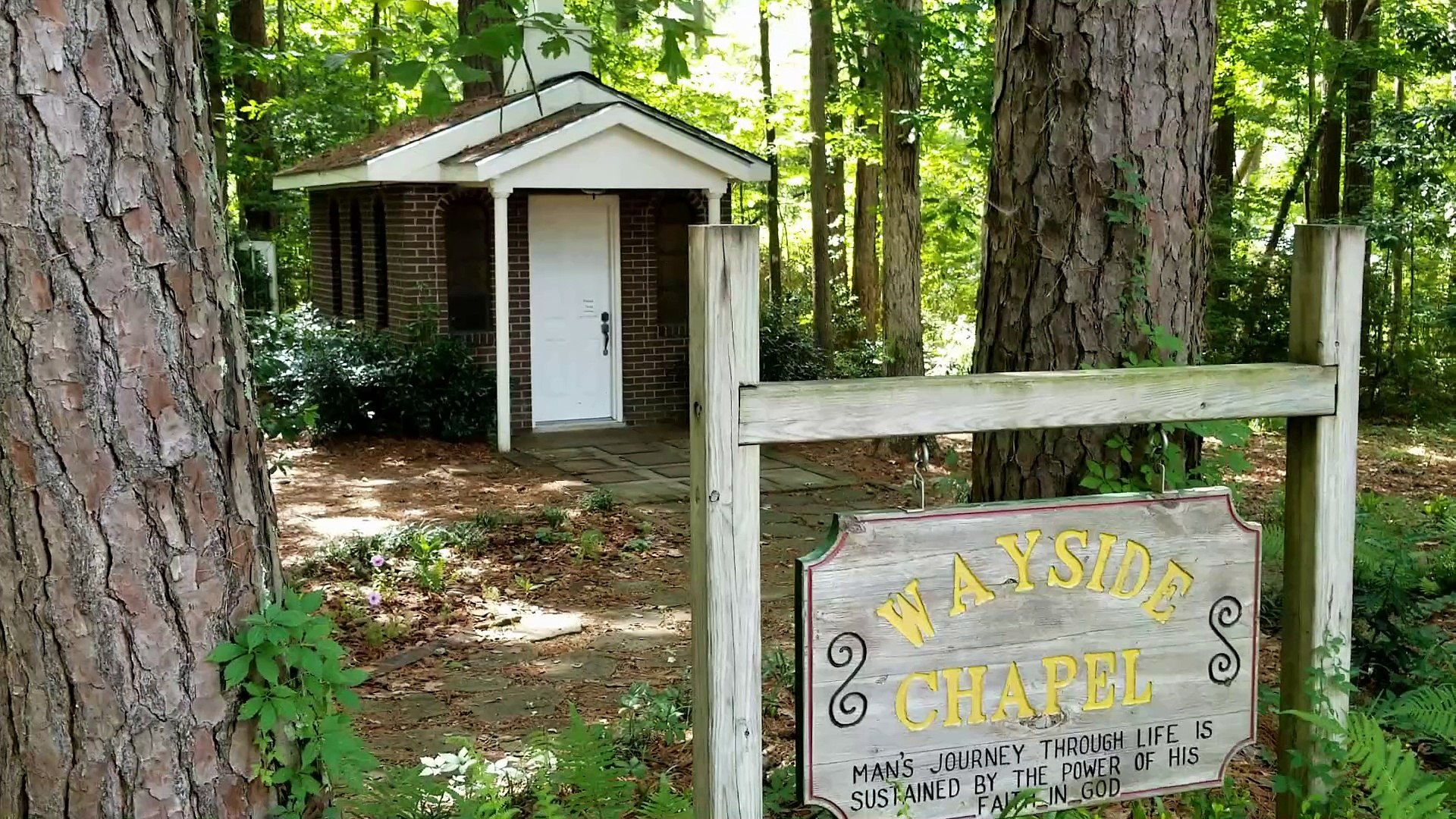 Visiting The Wayside Chapel At Percy Quin State Park
