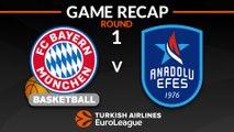 Highlights: FC Bayern Munich - Anadolu Efes Istanbul