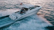 The DC 365 Dual Console by Pursuit Boats