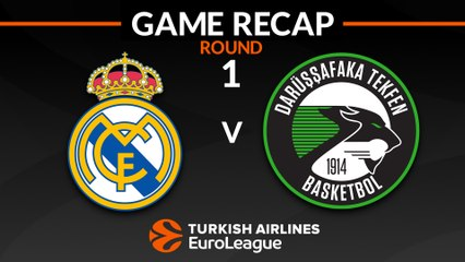EuroLeague 2018-19 Highlights Regular Season Round 1 video: 	Madrid 109-93 Darussafaka