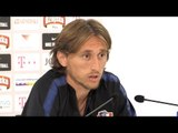 Luka Modric Pre-Match Press Conference - Croatia v England - UEFA Nations League