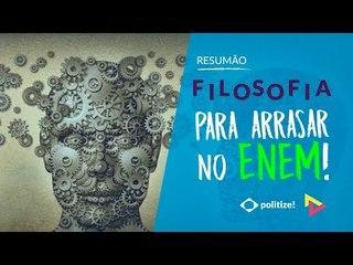FILOSOFIA PARA O ENEM! | Prof. Fábio Monteiro | Vestibular em Cena