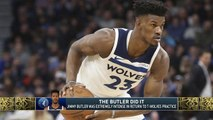 Tiki and Tierney: Was Jimmy Butler's outburst staged?