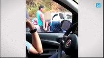 Resgate a vítimas no acidente ocorrido em Guaçuí