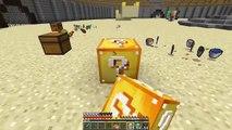 KORKUNÇ KADIN VALAK VS ŞANS BLOKLARI - Minecraft
