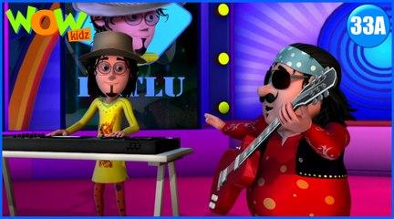 Motu Patlu in Hindi | The Rock Band| Cartoon for Kids | Wow Kidz