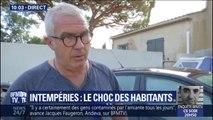 """Intempéries: cet habitant de Sainte-Maxime témoigne """"d'une véritable vague"""" qui a déferlé sur sa maison"""