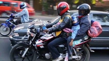 Hal yang Perlu Dihindari Saat Mudik dengan Sepeda Motor