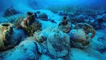 Descubren en el Egeo un cementerio de naufragios con ánforas históricas