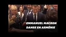 La danse arménienne d'Emmanuel et Brigitte Macron