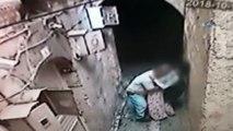 Şanlıurfa'da yaşanan iğrenç olay kamerada