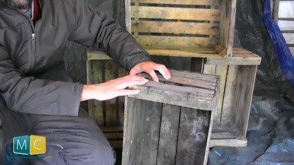 Comment recycler des vieilles caisses en bois ?